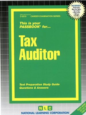 cover image of Tax Auditor