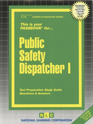 cover image of Public Safety Dispatcher I