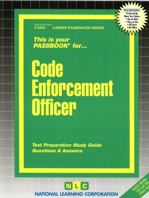 cover image of Code Enforcement Officer