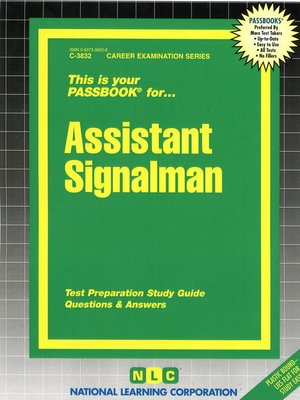cover image of Assistant Signalman