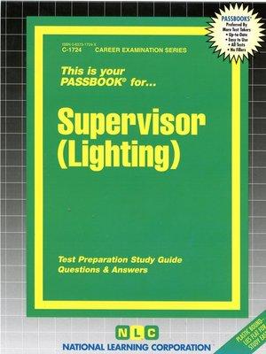 cover image of Supervisor (Lighting)