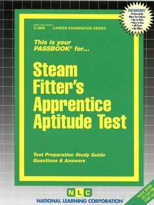 cover image of Steam Fitters' Apprentice Aptitude Test