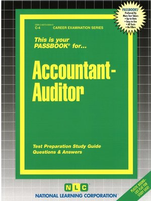 cover image of Accountant-Auditor