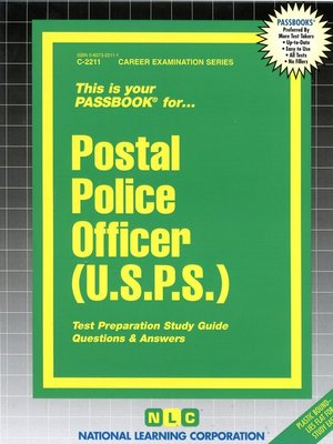 cover image of Postal Police Officer (USPS)