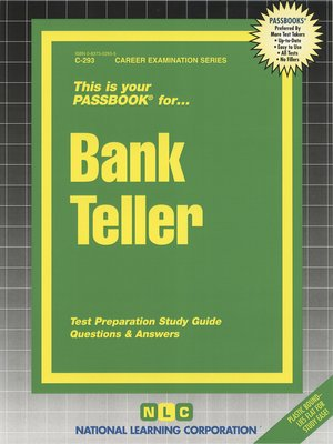 cover image of Bank Teller
