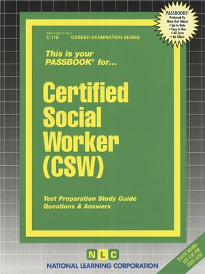 cover image of Certified Social Worker (CSW)