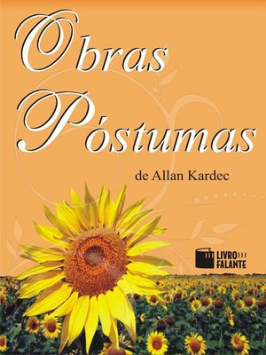 cover image of Obras Póstumas