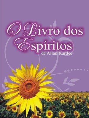 cover image of O Livro dos Espíritos