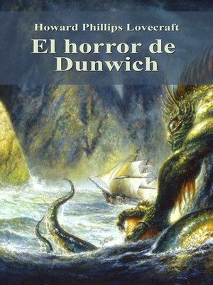 cover image of El horror de Dunwich