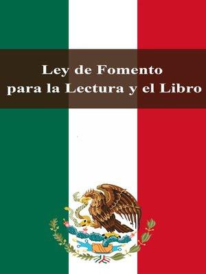 cover image of Ley de Fomento para la Lectura y el Libro