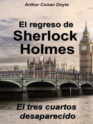 cover image of El tres cuartos desaparecido
