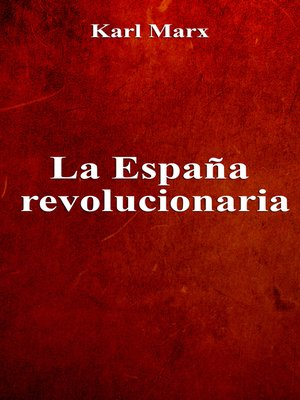 cover image of La España revolucionaria