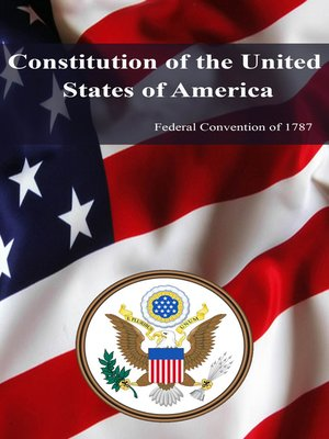 cover image of Constitution of the United States of America (1787)
