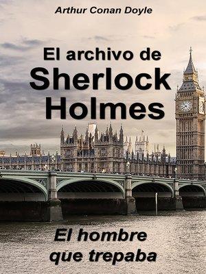 cover image of El hombre que trepaba