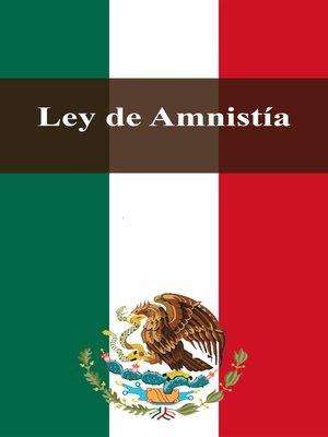 cover image of Ley de Amnistía
