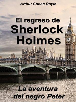 cover image of La aventura del negro Peter