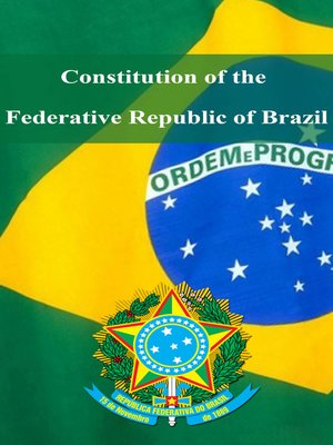 cover image of Сonstitution of the Federative Republic of Brazil