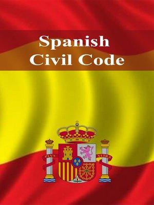 cover image of Spanish Civil Code