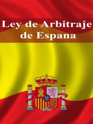cover image of Ley de Arbitraje de Espana