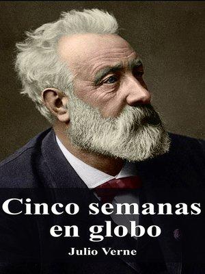 cover image of Cinco semanas en globo