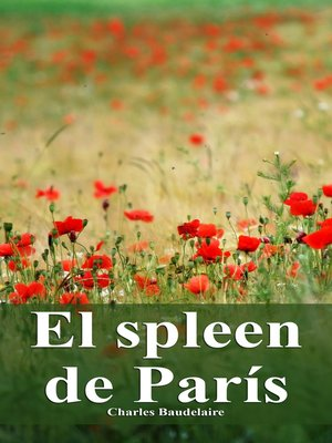 cover image of El spleen de París