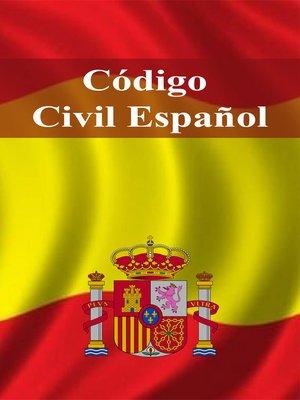 cover image of Código Civil Español