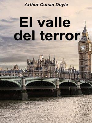 cover image of El valle del terror
