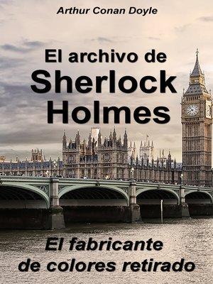 cover image of El fabricante de colores retirado