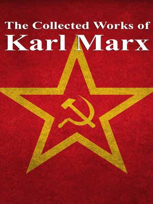 cover image of The Collected Works of Karl Marx