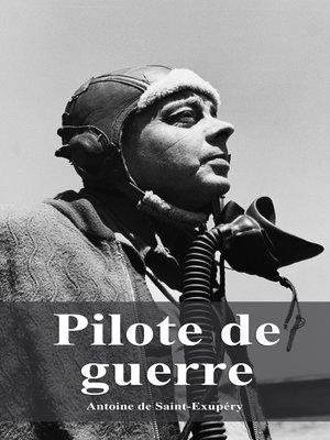 cover image of Pilote de guerre