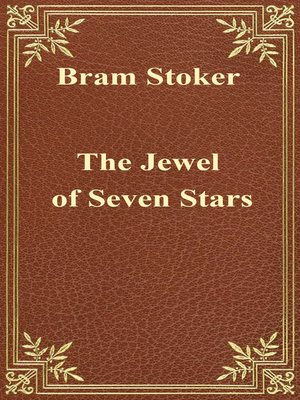 cover image of The Jewel of Seven Stars