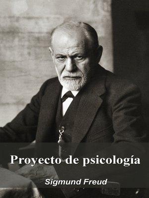 cover image of Proyecto de psicología