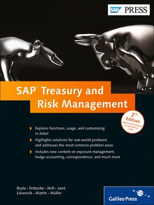cover image of SAP Treasury and Risk Management
