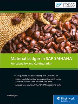 cover image of Material Ledger in SAP S/4HANA