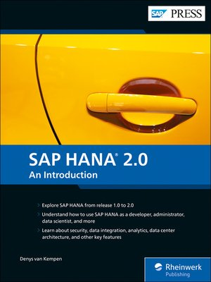 cover image of SAP HANA 2.0