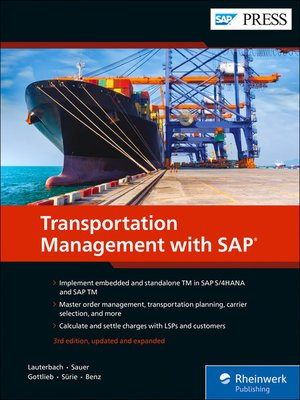 cover image of Transportation Management with SAP