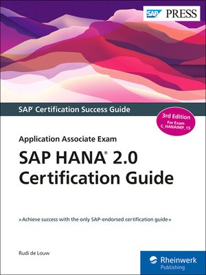 cover image of SAP HANA 2.0 Certification Guide