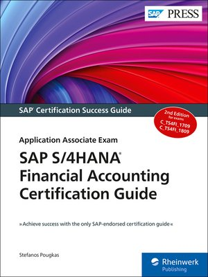 cover image of SAP S/4HANA Financial Accounting Certification Guide