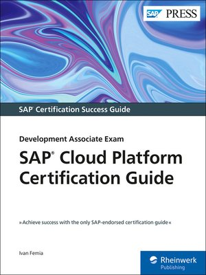 cover image of SAP Cloud Platform Certification Guide