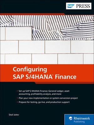 cover image of Configuring SAP S/4HANA Finance