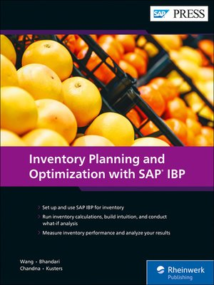 cover image of Inventory Planning and Optimization with SAP IBP