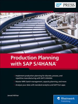 cover image of Production Planning with SAP S/4HANA