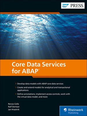cover image of Core Data Services for ABAP