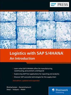 cover image of Logistics with SAP S/4HANA