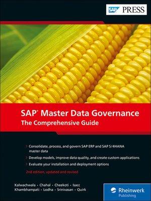 cover image of SAP Master Data Governance