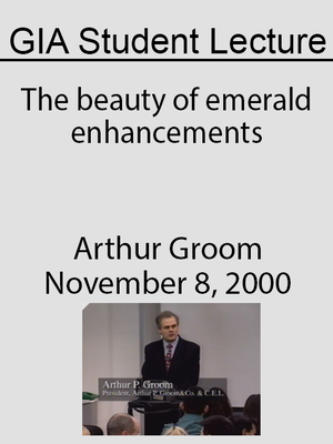 cover image of The beauty of emerald enhancements
