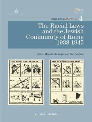cover image of The Racial Laws and the Jewish Comunity of Rome (1938-1945)