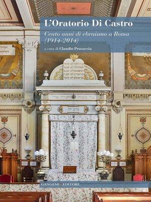 cover image of L'oratorio Di Castro