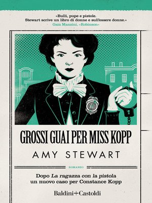 cover image of Grossi guai per Miss Kopp
