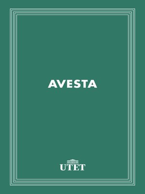 cover image of Avesta